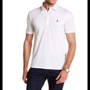 Volcom Banger White Polo Shirt